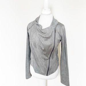 NWT!! Mystree gray zip up jacket size S